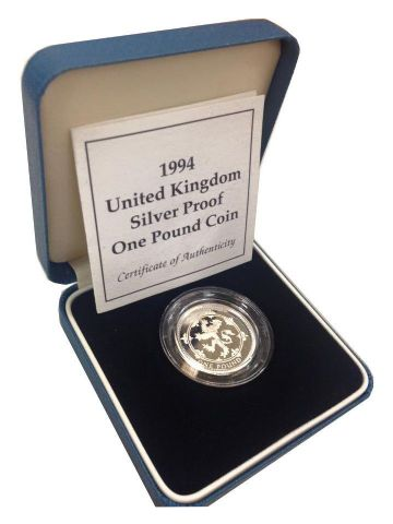 1994 Silver Proof One Pound Coin
